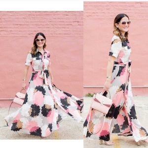 Light Pink Maxi Dress Banana Republic